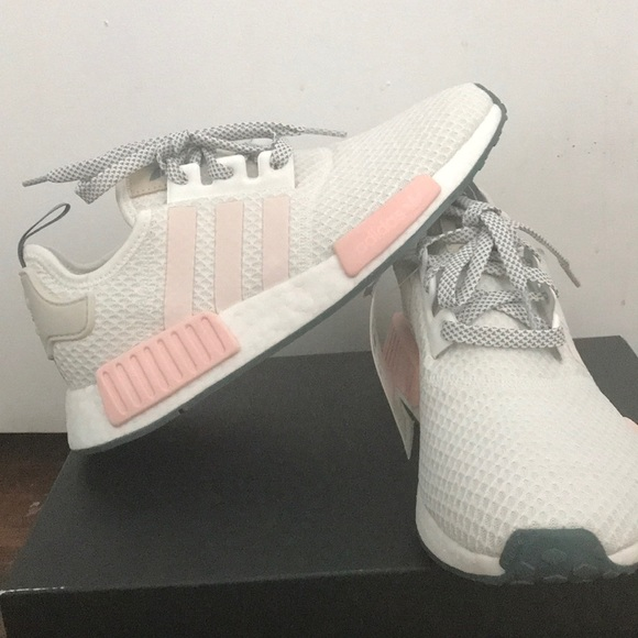 Icey White Nwt Running Adidas r1 Nmd Talc Pink n0wX8kOP